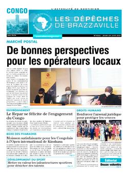 Les Dépêches de Brazzaville : Édition brazzaville du 24 juin 2021