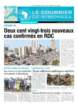 Les Dépêches de Brazzaville : Édition le courrier de kinshasa du 24 juin 2021