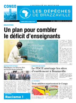 Les Dépêches de Brazzaville : Édition brazzaville du 23 juillet 2021