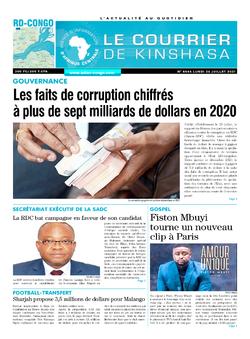 Les Dépêches de Brazzaville : Édition le courrier de kinshasa du 26 juillet 2021