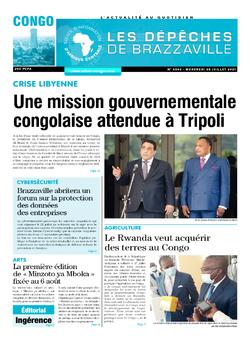 Les Dépêches de Brazzaville : Édition brazzaville du 28 juillet 2021
