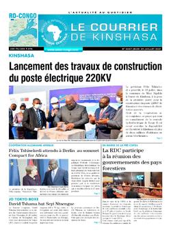 Les Dépêches de Brazzaville : Édition le courrier de kinshasa du 29 juillet 2021