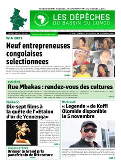 Les Dépêches de Brazzaville : Édition du 6e jour du 18 septembre 2021