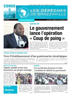 Les Dépêches de Brazzaville : Édition brazzaville du 15 octobre 2021
