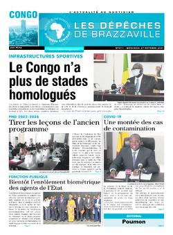 Les Dépêches de Brazzaville : Édition brazzaville du 27 octobre 2021