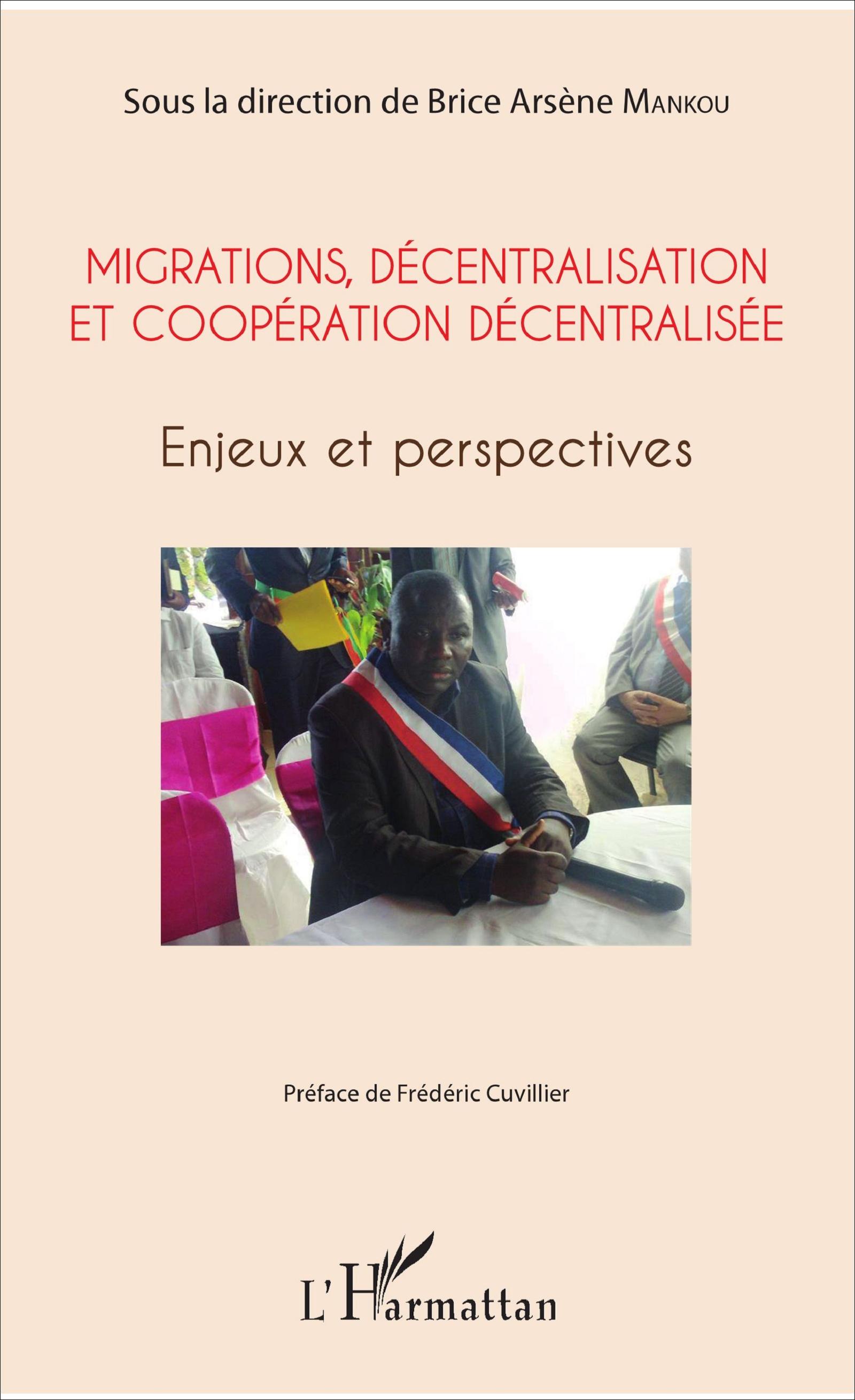 Visuel nouvel ouvrage de Brice Arsène Mankou sur la coopération