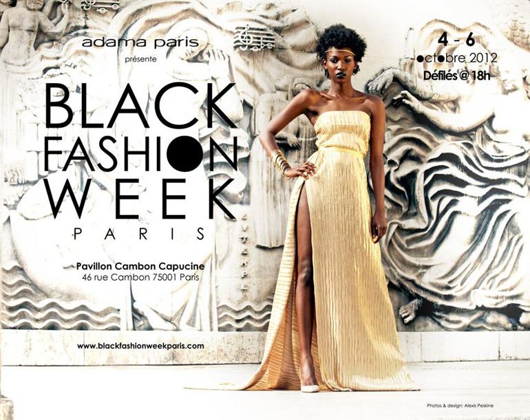 visuel de la Black Fashion Week 2012