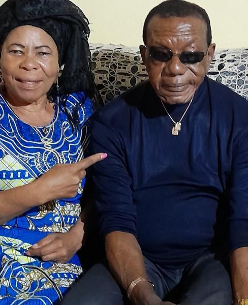 Clément Ossinonde et Marie Coco Demba, membre de l'UMC