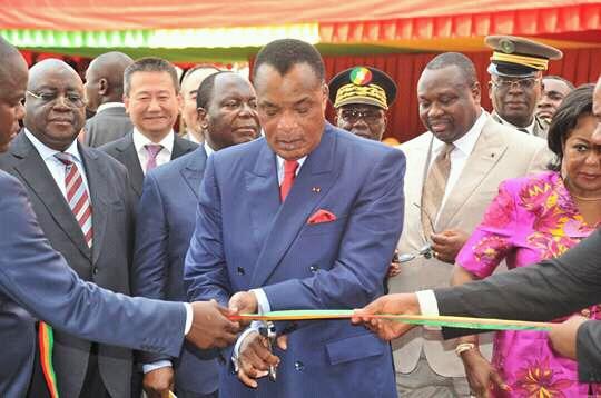 Inauguration d'un nouveau barrage financé par la Chine — Congo