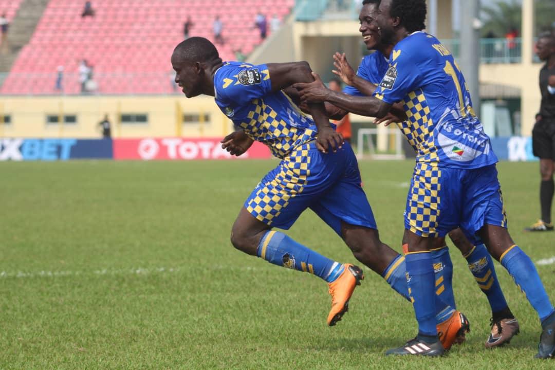 Coupe africaine de la conf d ration l as otoho tenue en chec par la renaissance sportive de - Coupe africaine des clubs ...