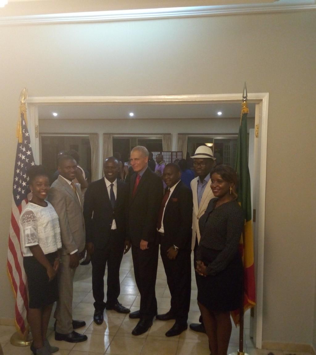 rencontre obama jeunes africains