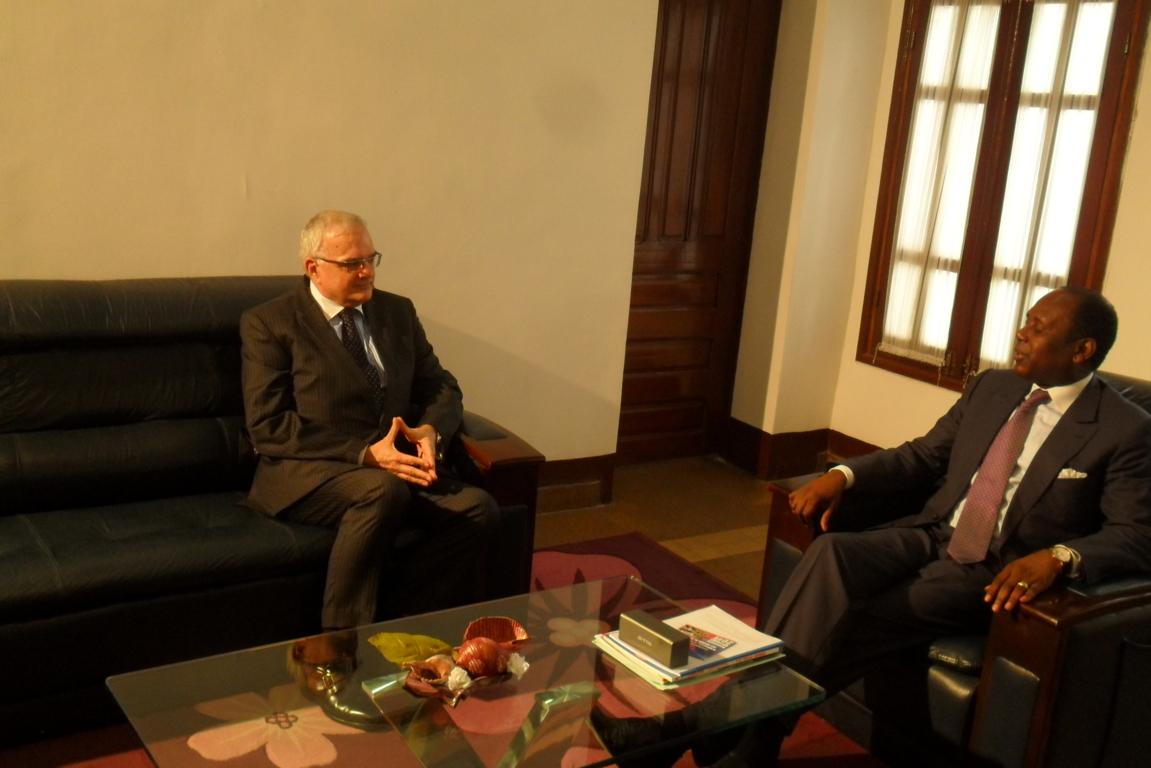 Congo belgique l 39 engagement de dynamiser les relations for Chambre de commerce du congo brazzaville
