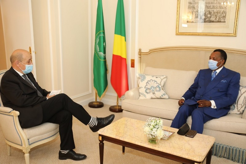Série des audiences du Chef de l'Etat Denis Sassou N'Guesso en marge du sommet de Paris du 18 mai 2021