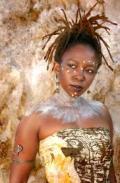 La chanteuse Chinowino Mazaire.