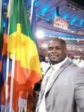 Franck Elemba, le porte-drapeau de la délégation congolaise à Rio 2016