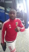 Clevid Dikamona est officiellement qualifié avec le Congo